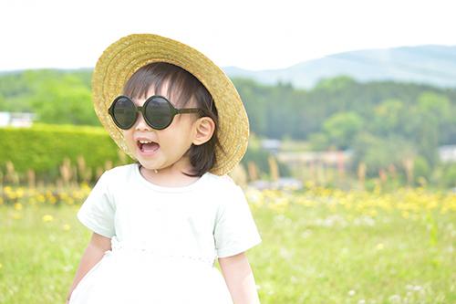 イメージ_紫外線と子ども