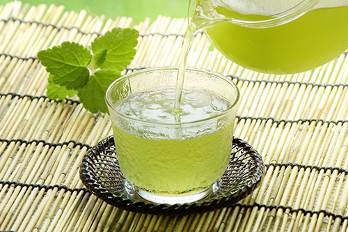 イメージ_冷たい緑茶