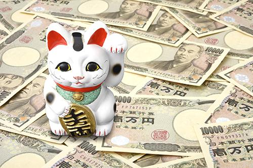 イメージ_招き猫とお金