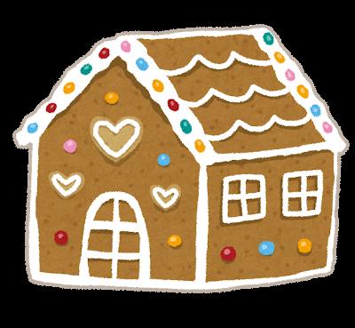 イラスト_お菓子の家