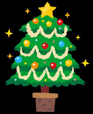 イラスト_クリスマスツリー
